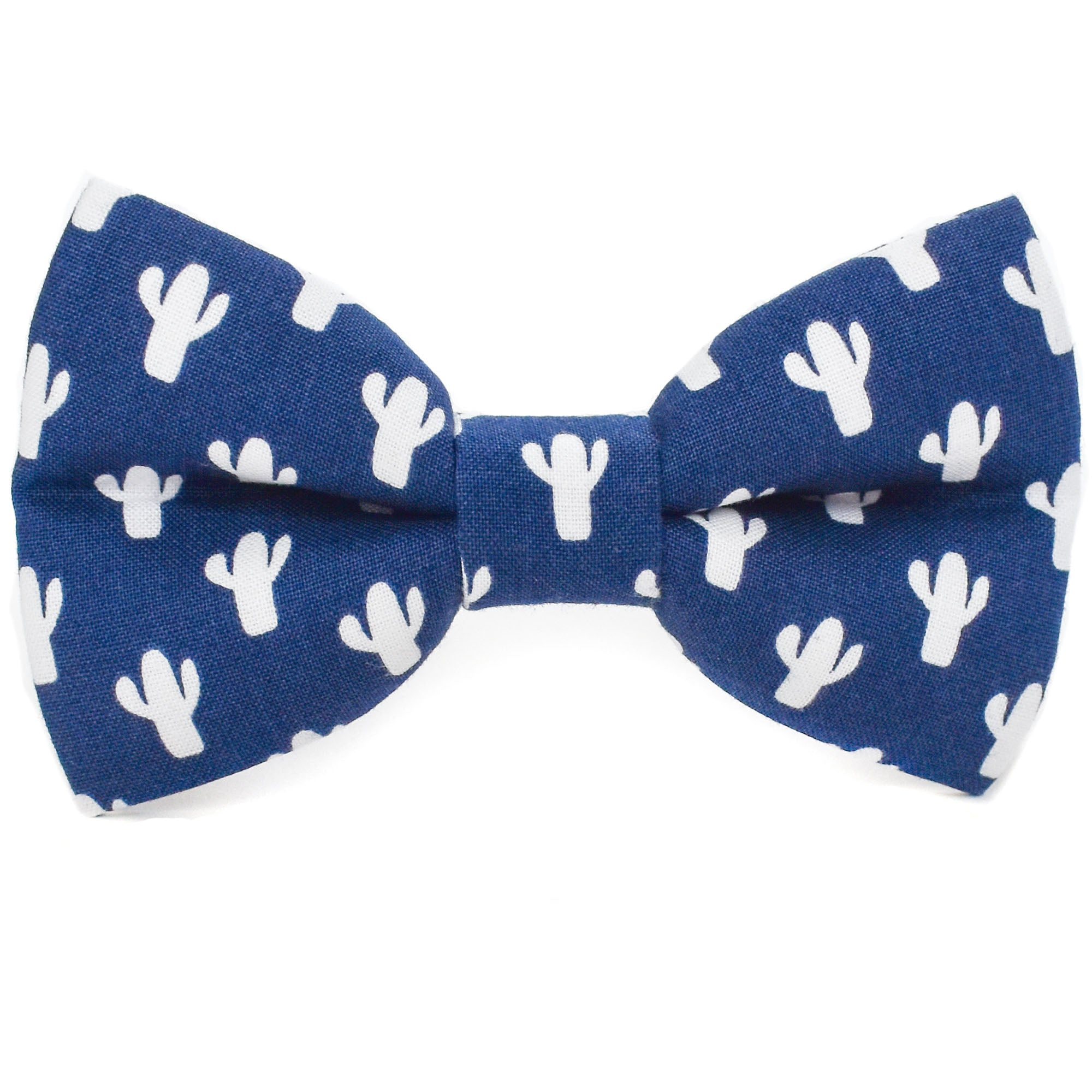 Cool Cactus Dog Bow Tie