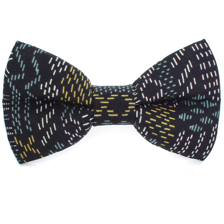 Nevada Nights Dog Bow Tie