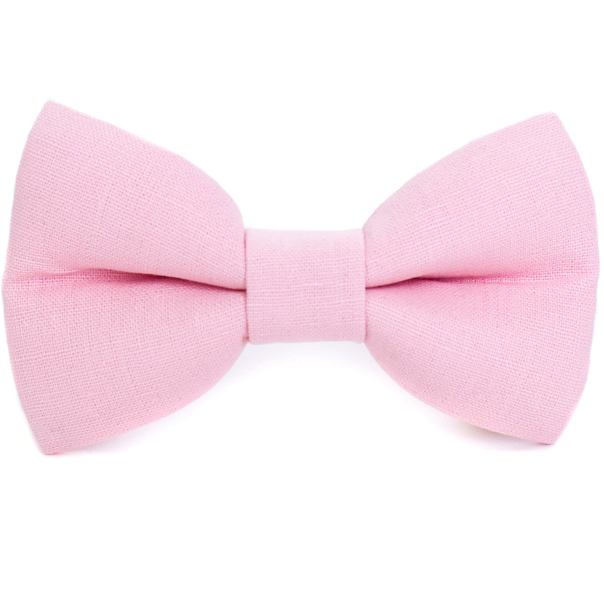 Petal Pink Dog Bow Tie
