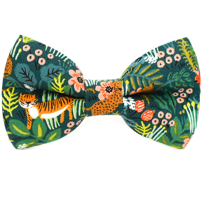 Welcome to the Jungle Dog Bow Tie