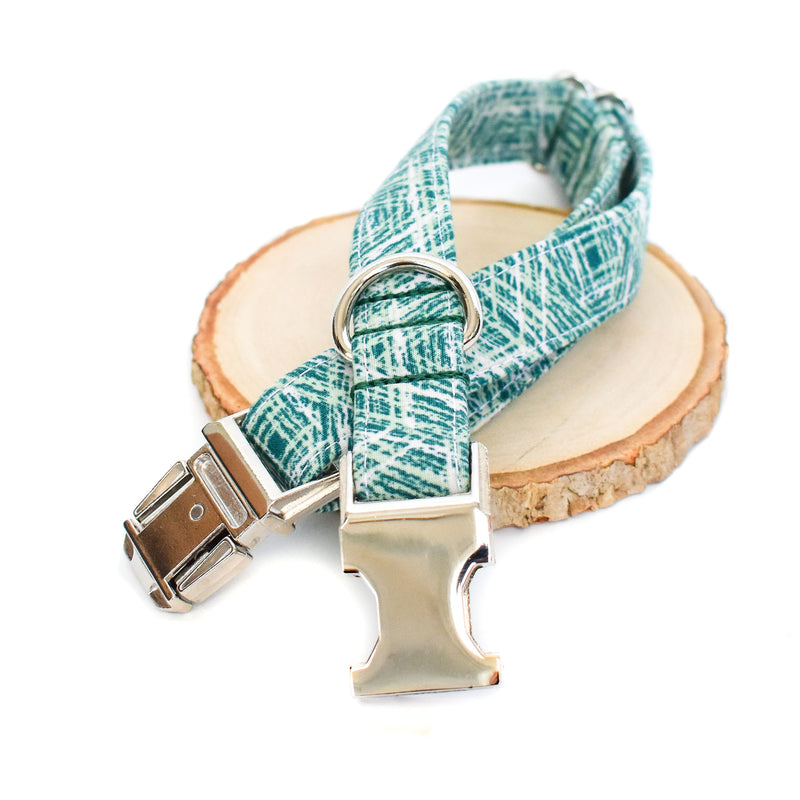 OFF THE GRID GREEN DOG COLLAR