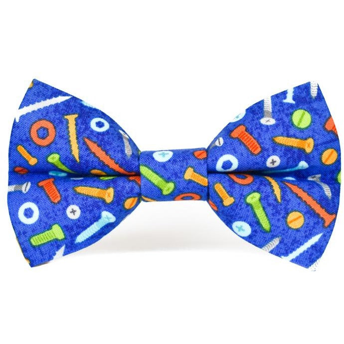 Nuts and Bolts - Dog Bow Tie