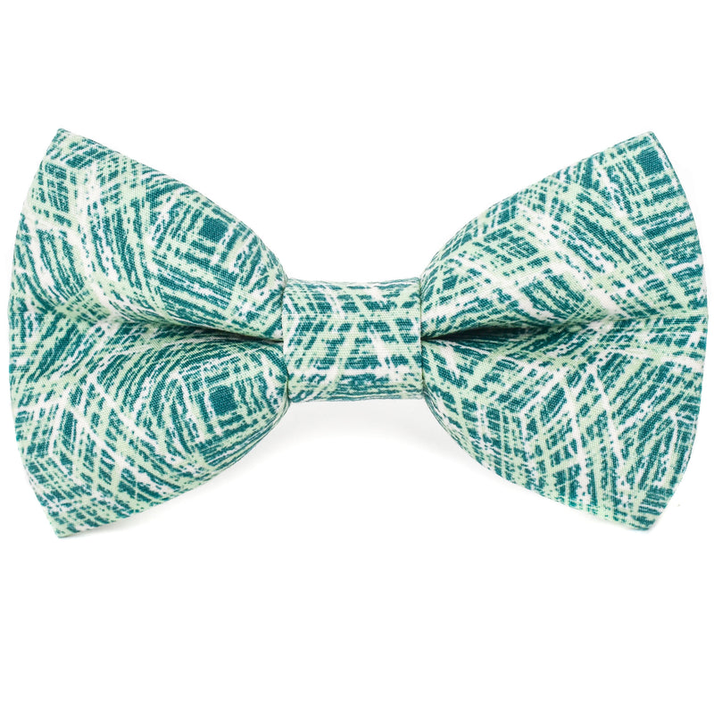 Off the Grid Green Dog Bow Tie
