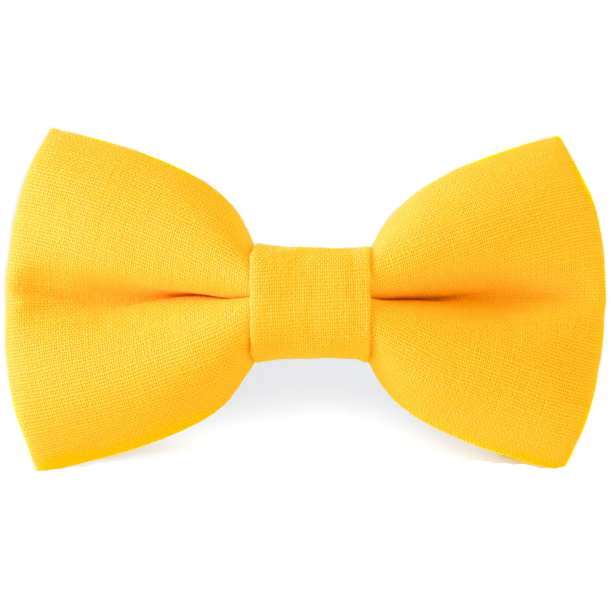Hello Yellow Dog Bow Tie