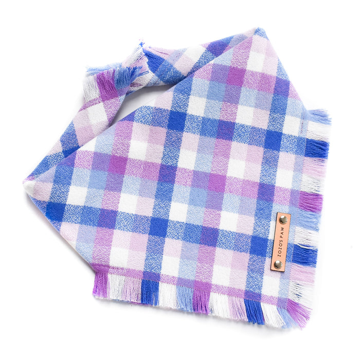 THE HARMONY - Dog Flannel Fray Bandana