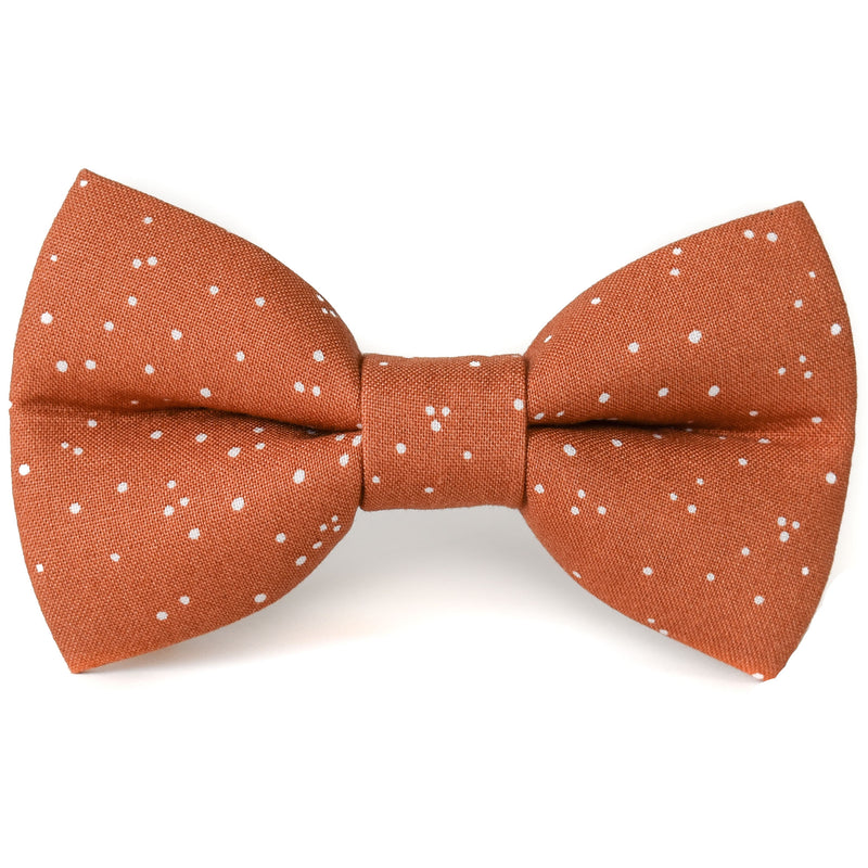 Spiced Speckles Dog Bow Tie