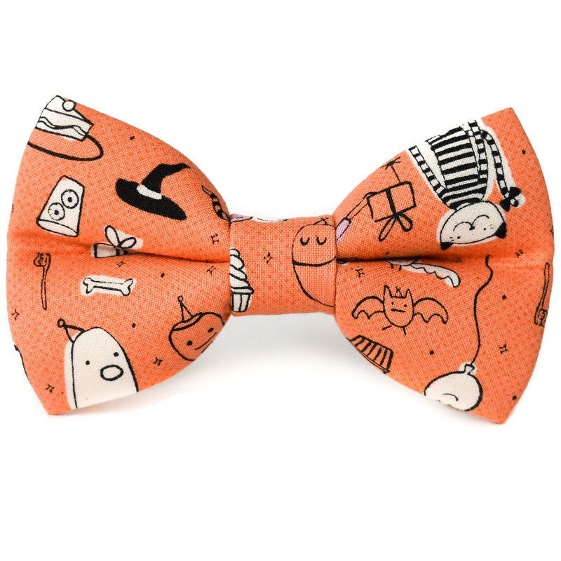 Monster Mash Dog Bow Tie