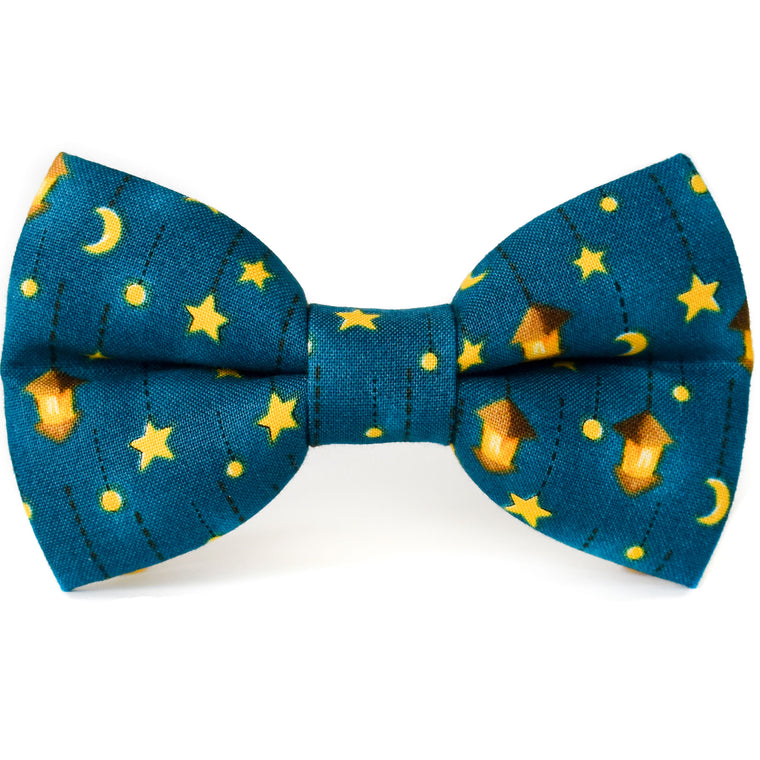 Starry Night Dog Bow Tie