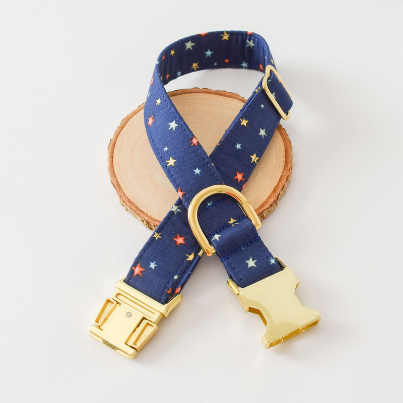 MIDNIGHT STARS DOG COLLAR