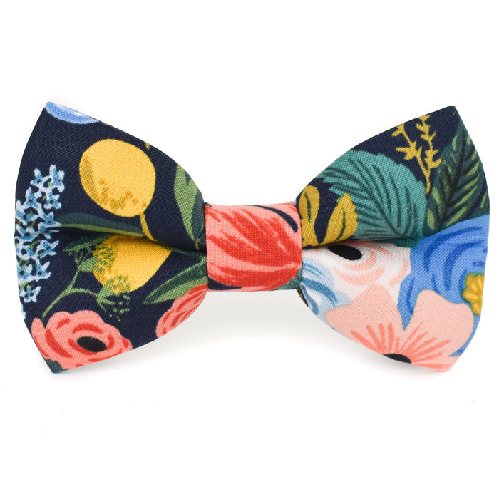 Garden Party Dog Bow Tie