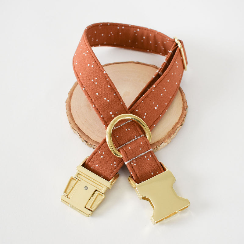 SPICED SPECKLES DOG COLLAR