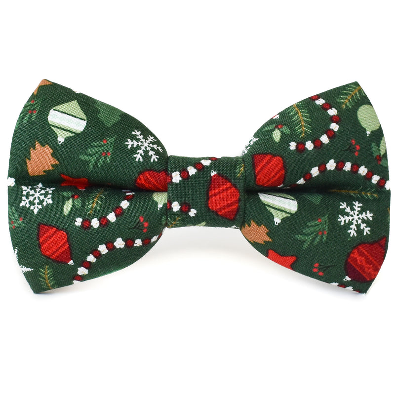 Holiday Ornaments Dog Bow Tie