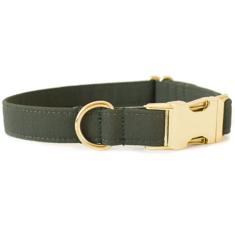 PINE GREEN DOG COLLAR