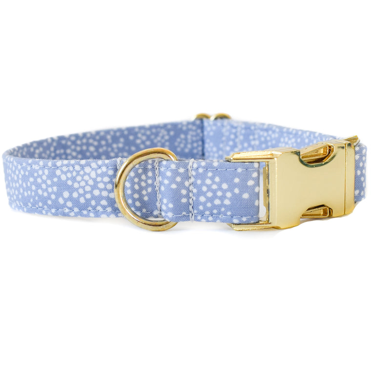PERIWINKLE BUBBLY DOG COLLAR