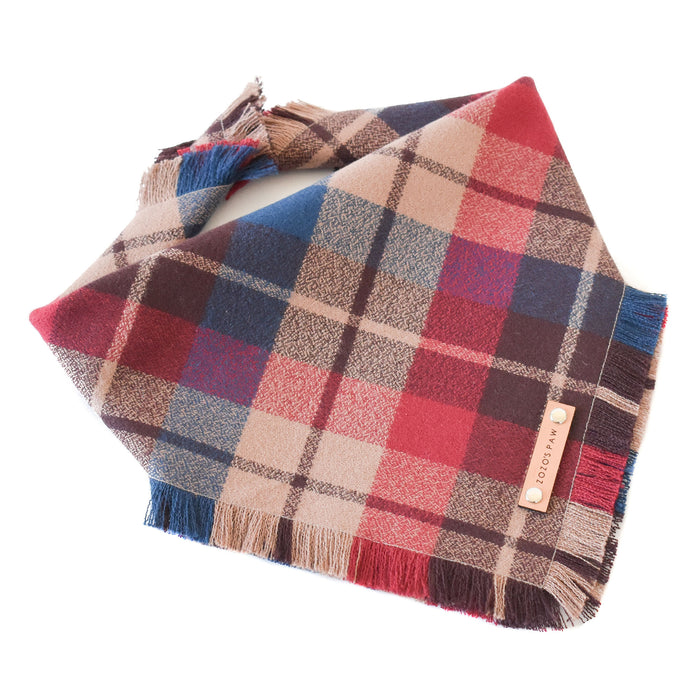 THE REESE - Dog Flannel Fray Bandana