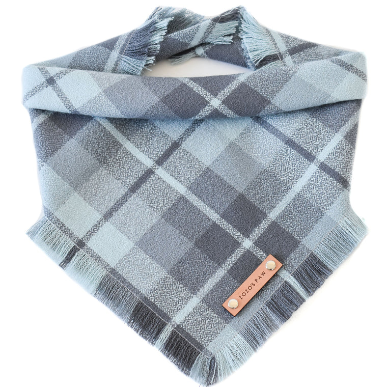 THE RUPERT - Dog Flannel Fray Bandana