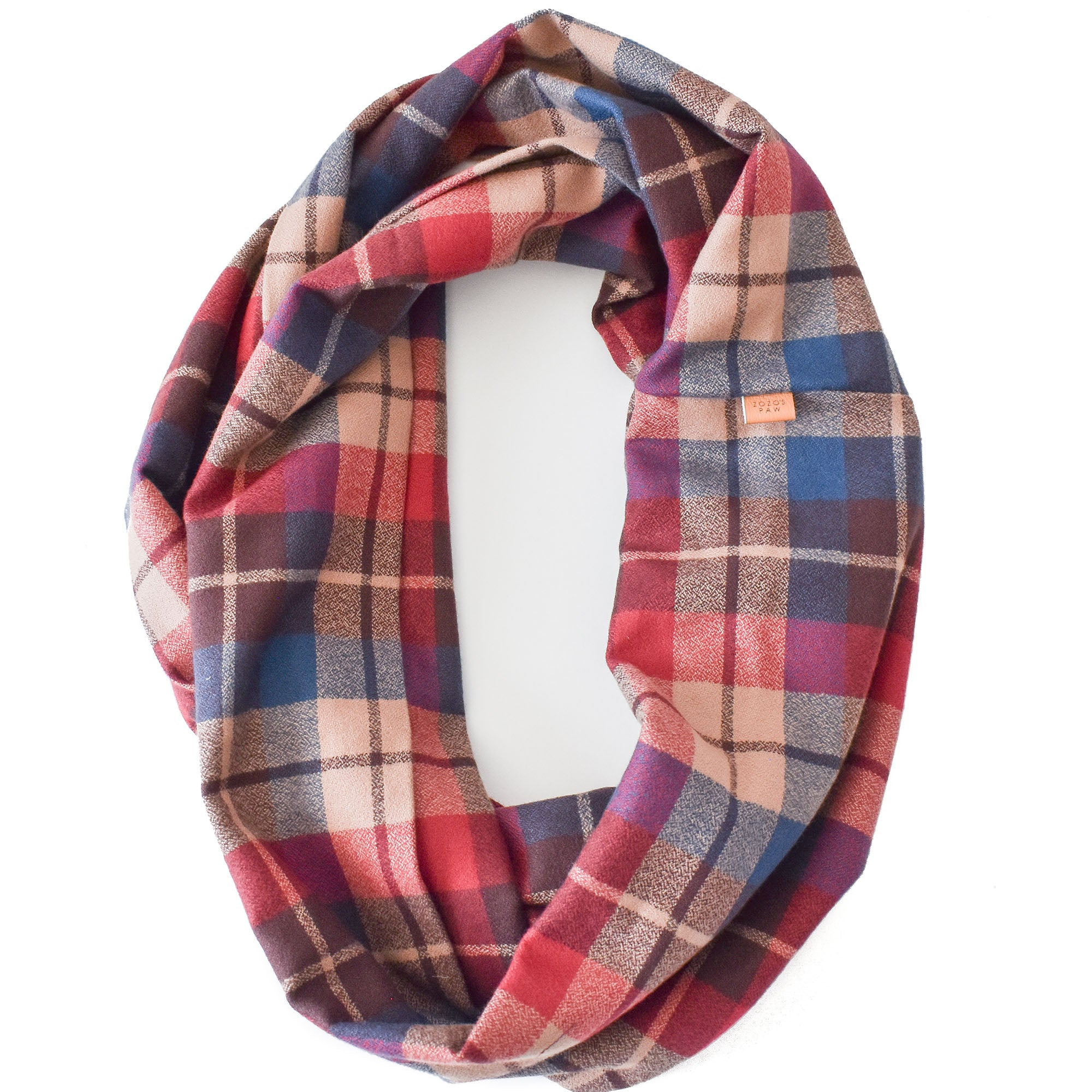 THE REESE - Flannel Infinity Scarf