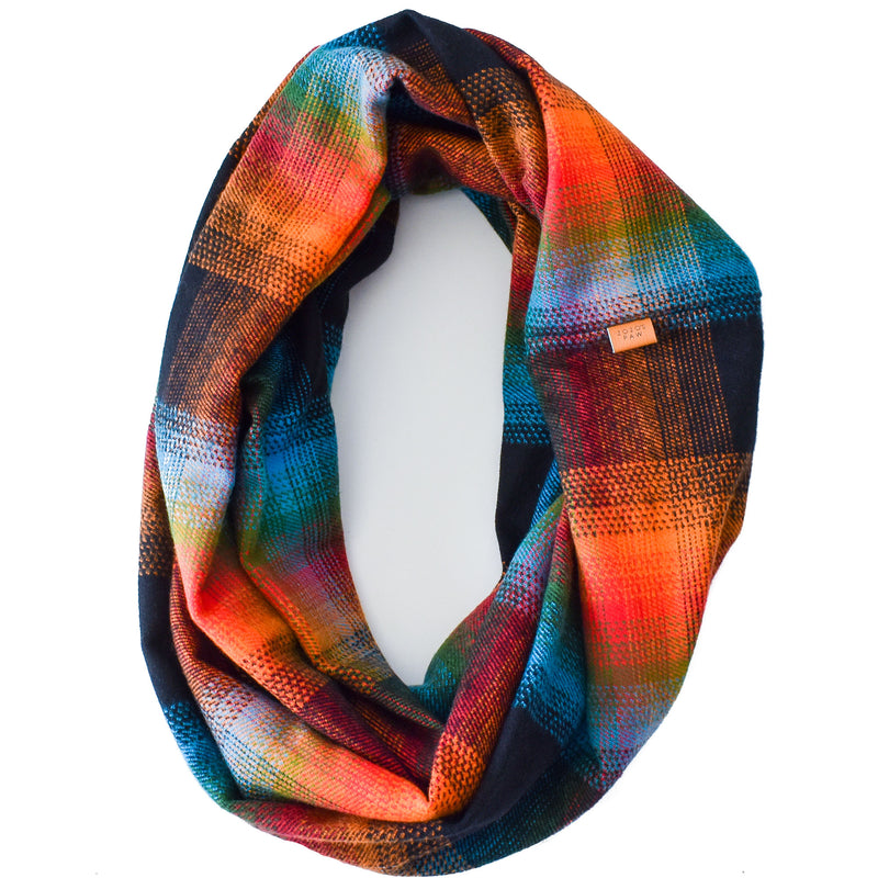 THE VIDA - Flannel Infinity Scarf