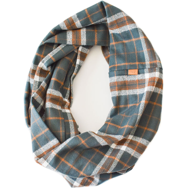THE SYDNEY - Flannel Infinity Scarf