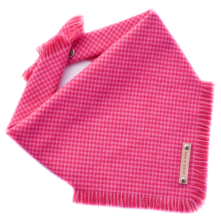 THE PENELOPE - Dog Flannel Fray Bandana