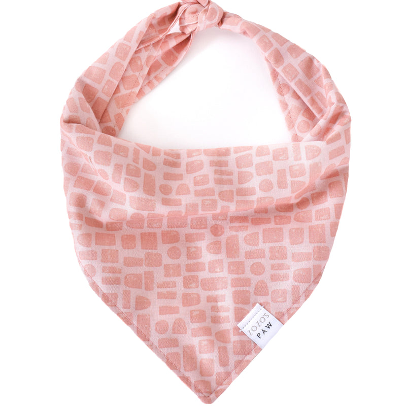 Pink Picturesque Dog Bandana