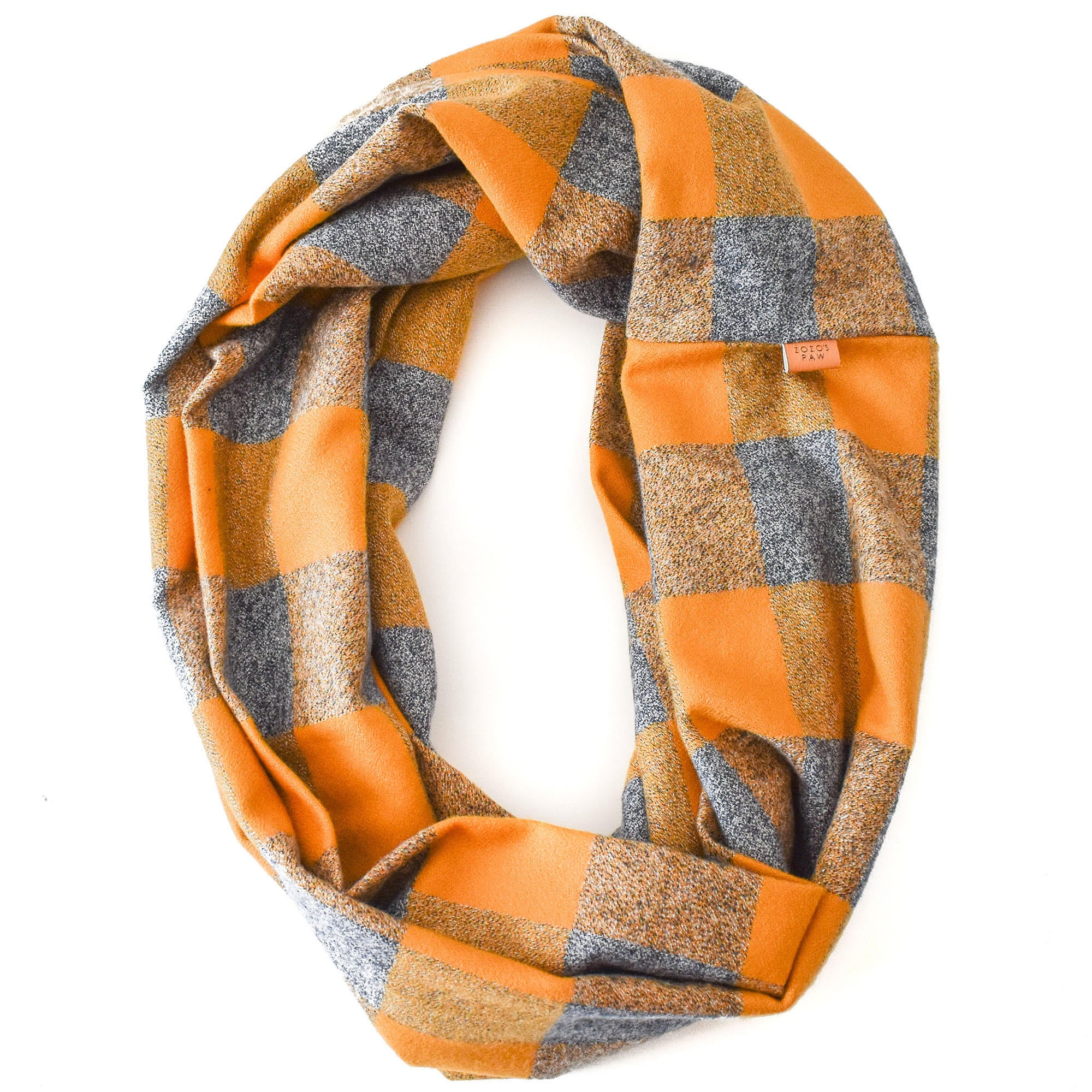 THE LIAM - Flannel Infinity Scarf