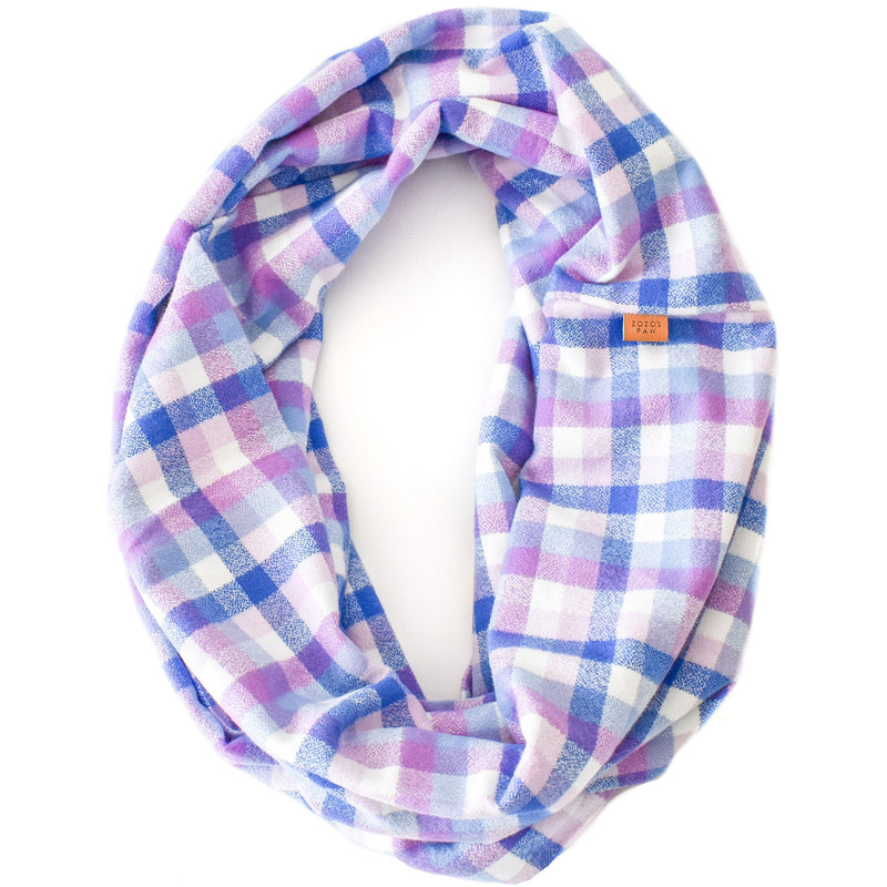 THE HARMONY - Flannel Infinity Scarf
