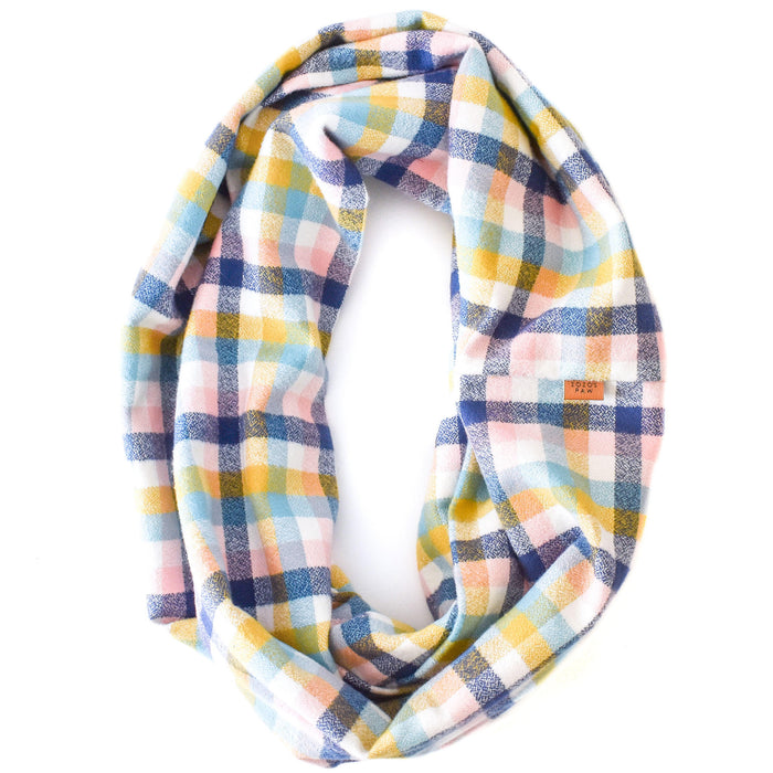 THE MARGOT - Flannel Infinity Scarf