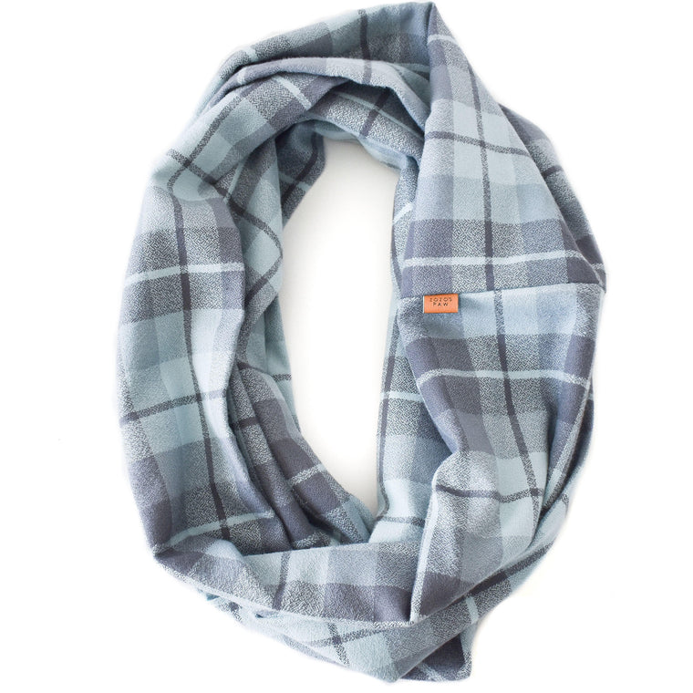THE RUPERT - Flannel Infinity Scarf