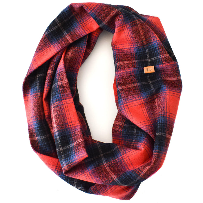 THE MILA - Flannel Infinity Scarf