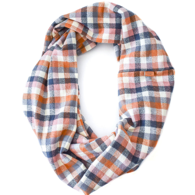 THE AUTUMN - Flannel Infinity Scarf