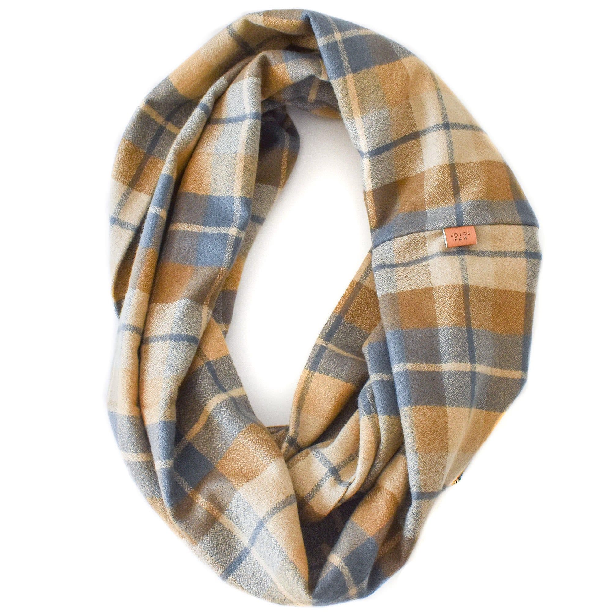 THE JASPER - Flannel Infinity Scarf