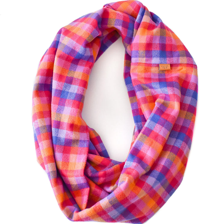 THE CALI - Flannel Infinity Scarf