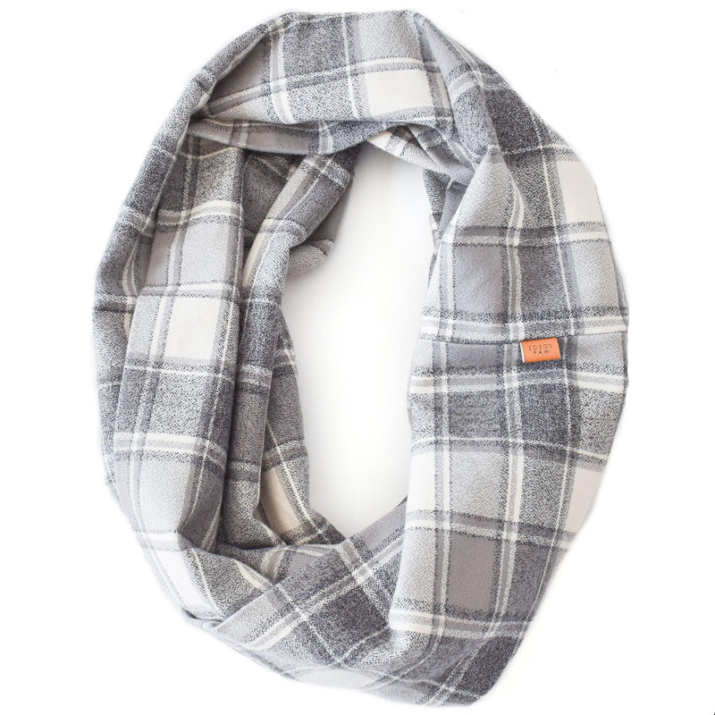 THE QUENBY - Flannel Infinity Scarf