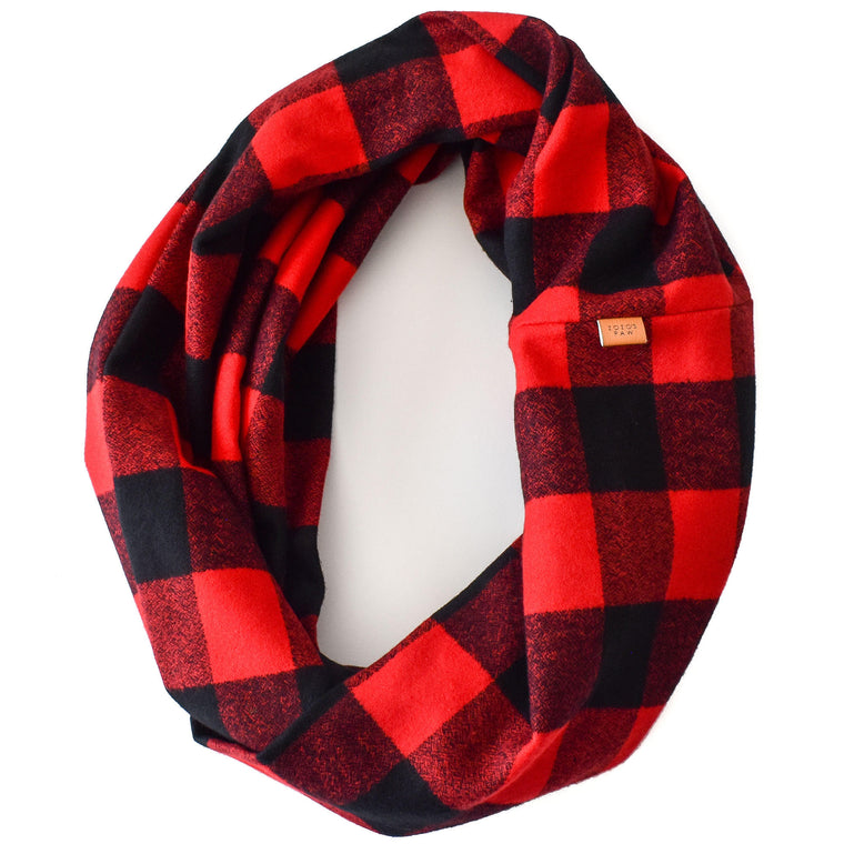 THE TIMMY - Flannel Infinity Scarf
