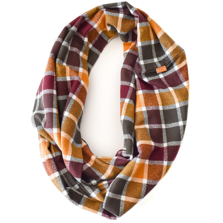 THE MADDOX - Flannel Infinity Scarf