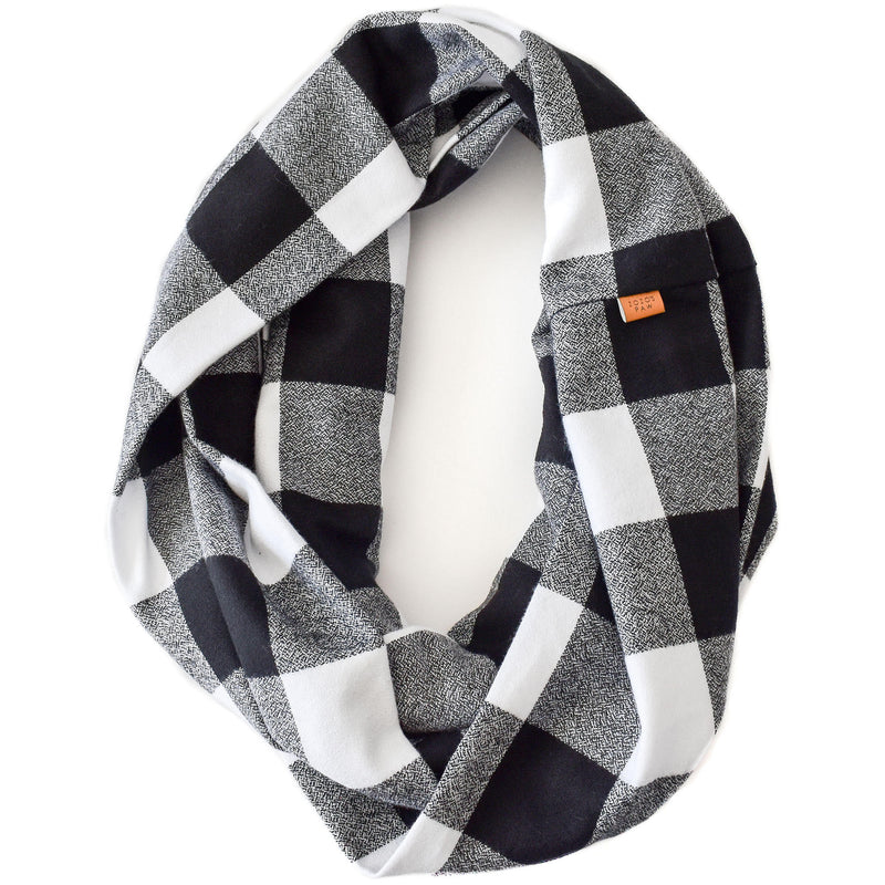 THE MICKEY - Flannel Infinity Scarf