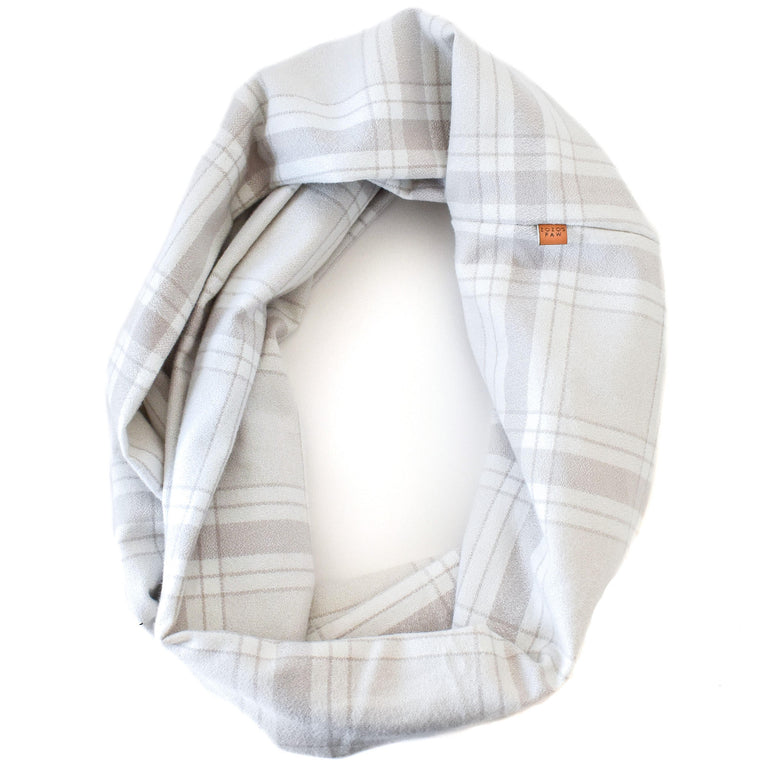 THE PEARL - Flannel Infinity Scarf