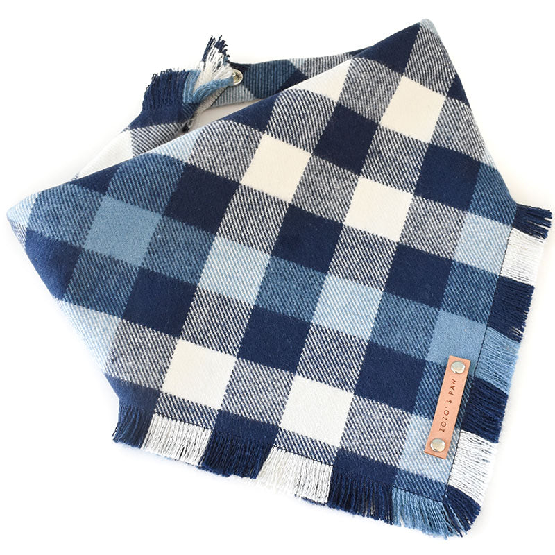 THE BRODY - Dog Flannel Fray Bandana