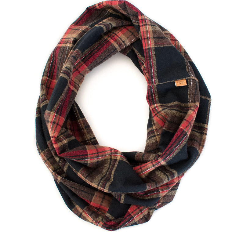 THE REAGAN - Flannel Infinity Scarf