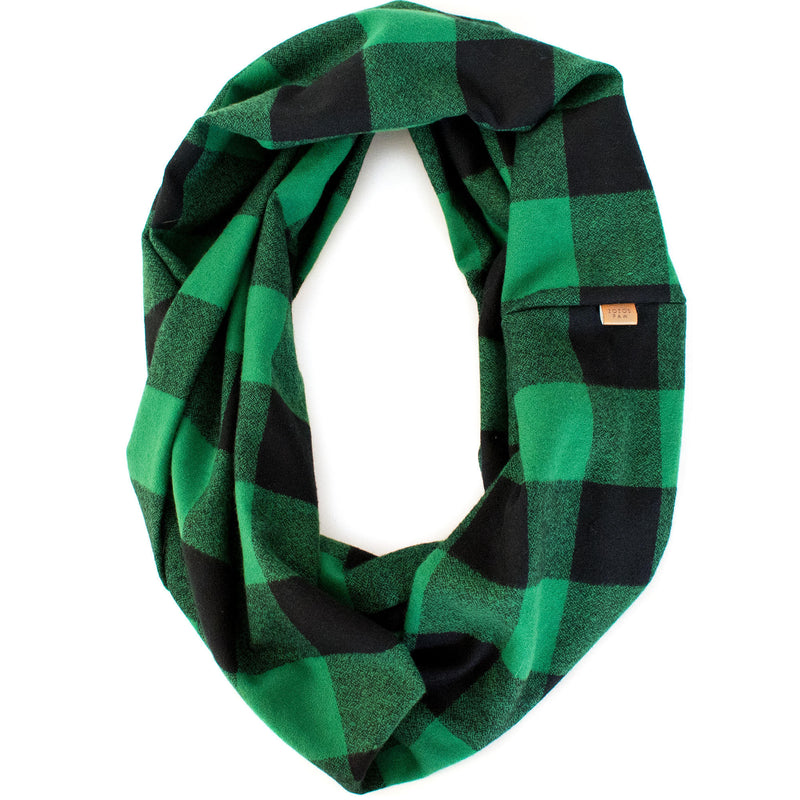 THE HUNTER - Flannel Infinity Scarf