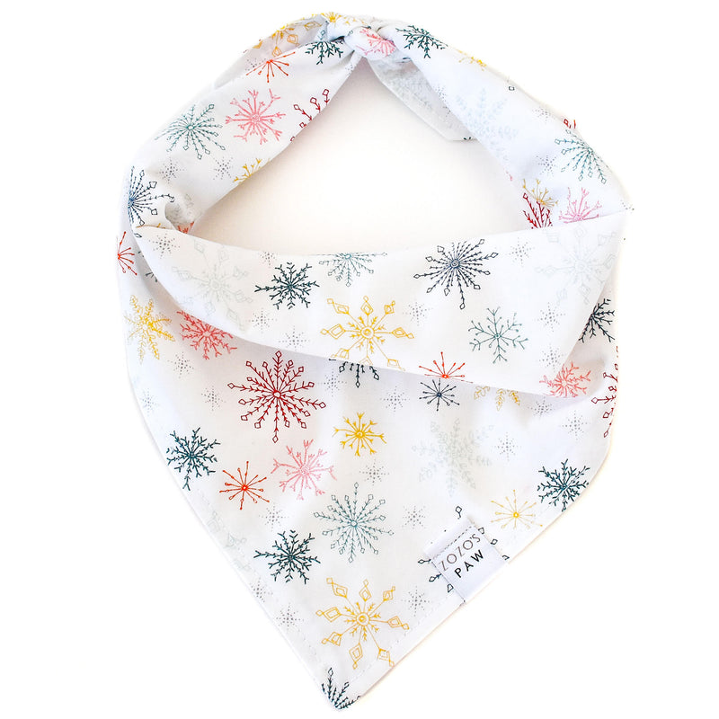 Winter Wonderland Dog Bandana