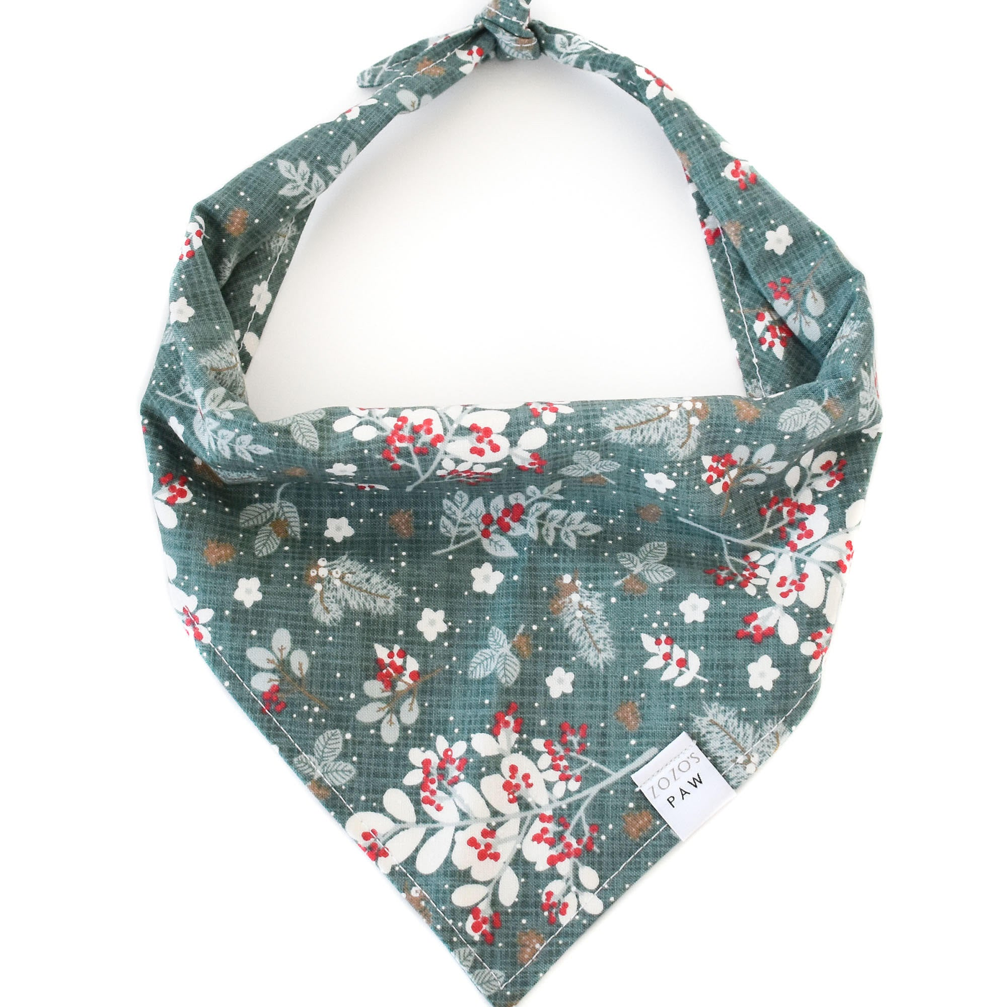 Merry Mistletoe Dog Bandana