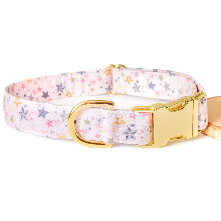 STAR SPRINKLES DOG COLLAR