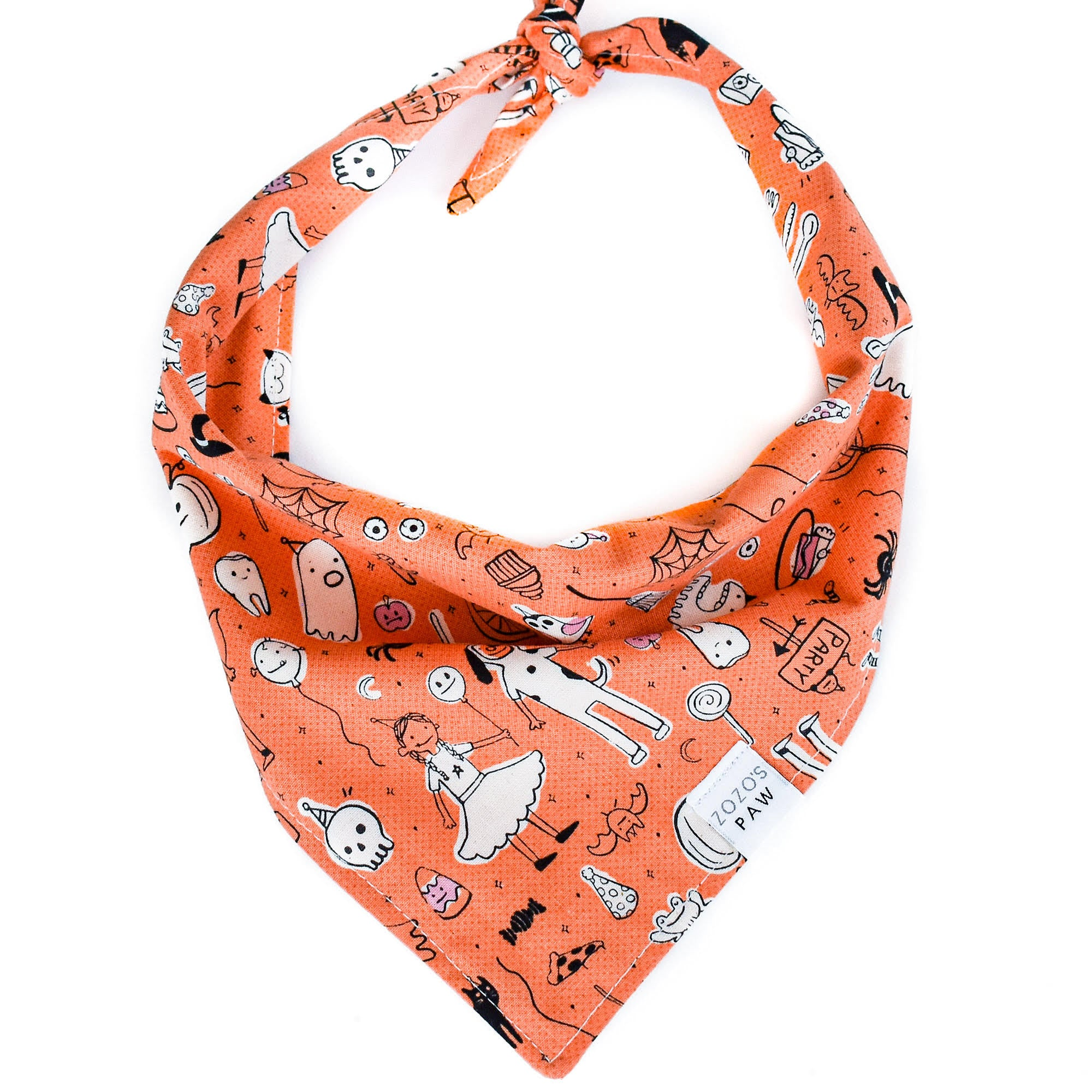 Monster Mash Dog Bandana