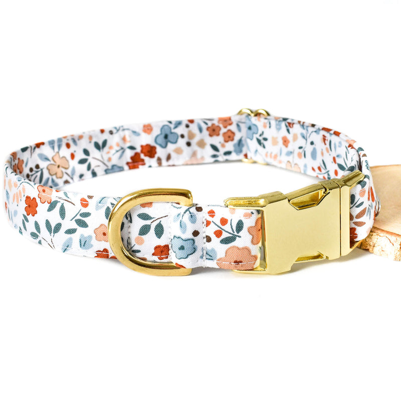 AUTUMN FLORAL DOG COLLAR