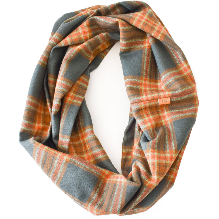 THE ESME - Flannel Infinity Scarf