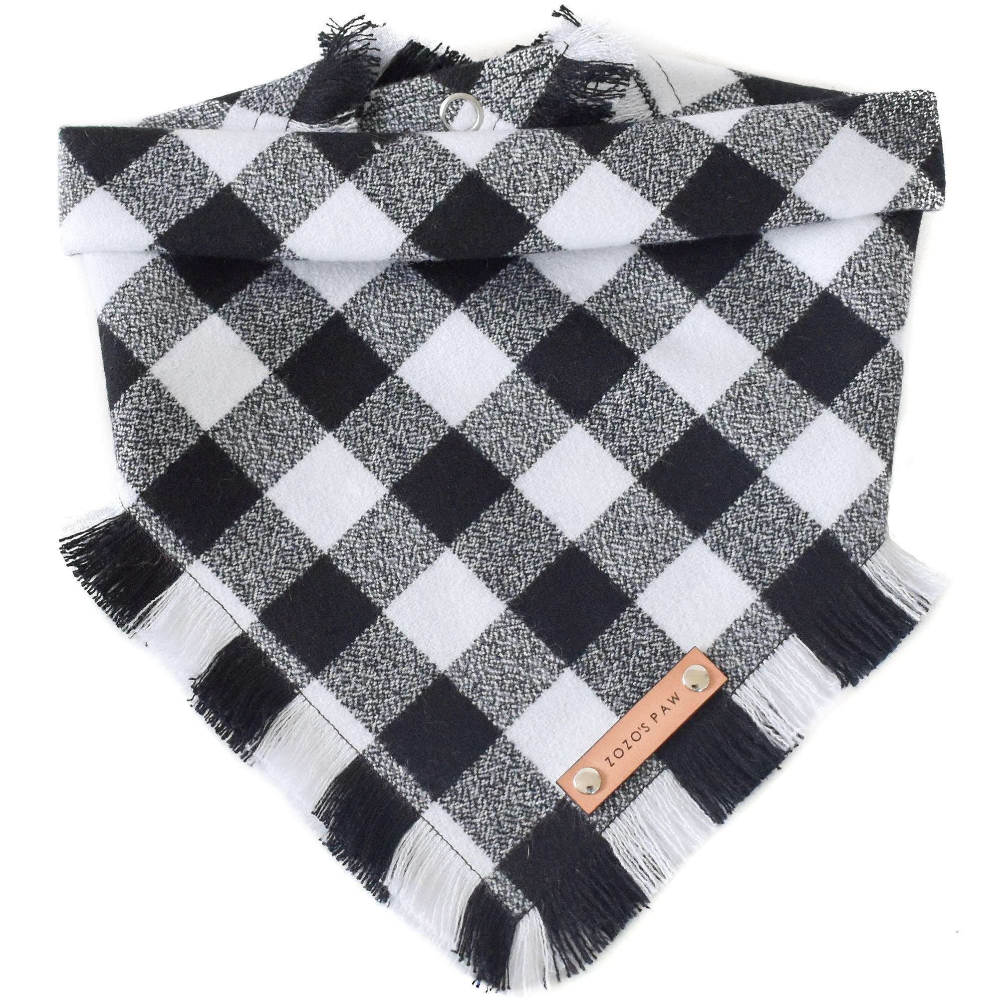 THE MICKEY - Dog Flannel Fray Bandana