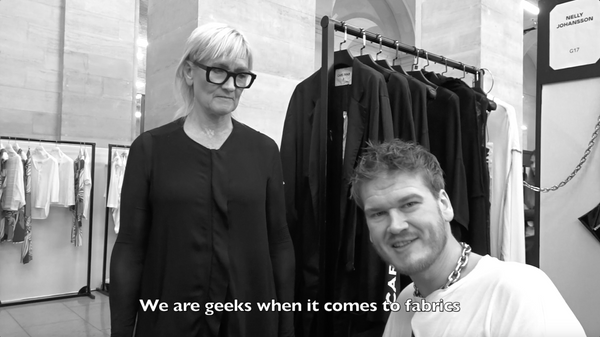 A few words from Fashion Designer Nelly Johansson
