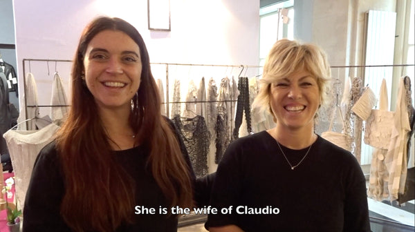 A few words from Fashion Designer Claudio Cutuli